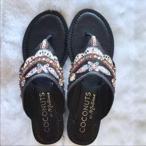 Coconut by Matisse Sparkling sandals